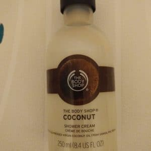 gel douche coconut body shop