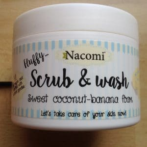 Scrub & wash coco banana foam