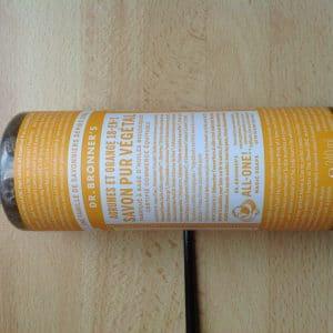 Savon Liquide Castile Soap Agrumes 18 en 1