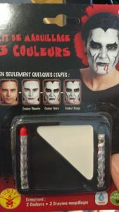 Kit de maquillage 3 couleurs