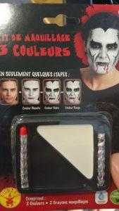 Kit de maquillage 3 couleurs