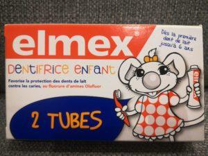 Elmex dentifrice enfant 0-6 ans