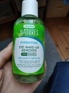 Démaquillant yeux biphasé hydratant
