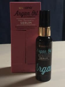 Argan oil serum cheveux