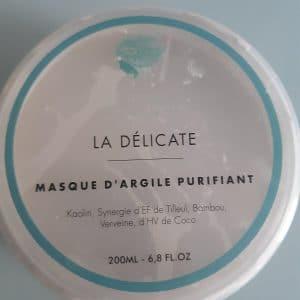 Masque d'argile purfifiant