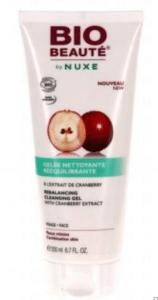 Gelée nettoyante rééquilibrante à l'extrait de cramberry Bio Beauté