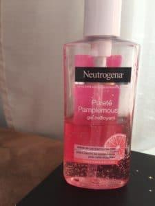 gel nettoyant pureté pamplemousse neutrogena