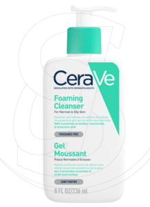 cerave gel moussant