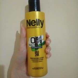 Nelly sulfate free hydratant gold 24k shampooing