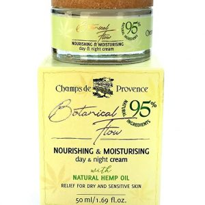 Botanical care Nourishing and moisturising day & night cream with natural hemp oil