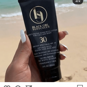 Blackgirlsunscreen SPF30