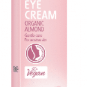 Eye cream with organic almond