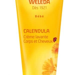 Crème lavante Corps et Cheveux au Calendula