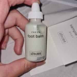 fresh foot balm