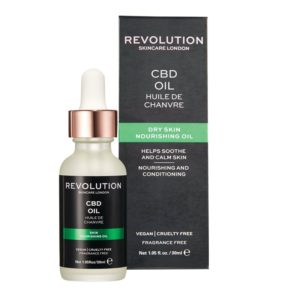 Revolution Skincare Nourishing Oil – CBD OIL