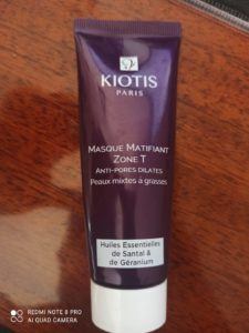 Masque matifiant Zone T