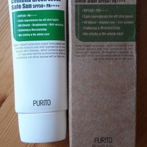 Centella Green Level Safe Sun SPF50+ PA++++
