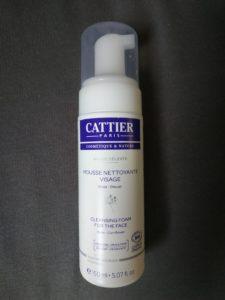 Mousse nettoyante visage Cattier
