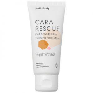 Hello Body Masque purifiant & adoucissant – Cara Rescue – Peaux sensibles – 50 ml