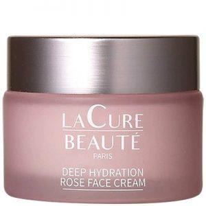 La Cure Beauté Crème hydratante & apaisante à la rose – Visage – 50 ml