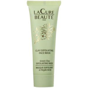 Masque exfoliant d'argile verte