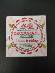 Déodorant solide Douceur de printemps