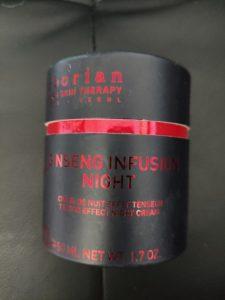 Crème de nuit effet tenseur Ginseng Infusion