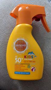 Crème solaire enfants Zenova Kids SPF 50
