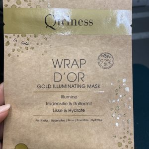 Qiriness wrap d'or
