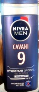 Cavani 9 – Gel douche hydratant originale édition limitée