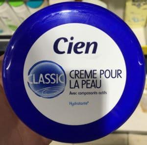 Crème pour la peau Classic