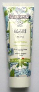 Dentifrice Fraîcheur Menthol Coslys