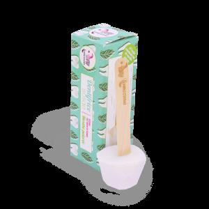 Dentifrice solide à la menthe poivrée, vegan et naturel