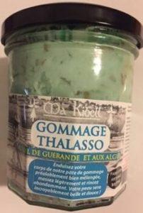 Gommage Thalasso au sel de Guérande et aux algues
