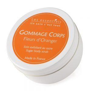 Gommage corps Fleurs d'Oranger – Certifié Naturel