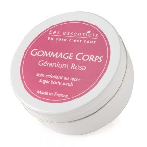 Gommage corps Géranium rosat – Certifié Naturel