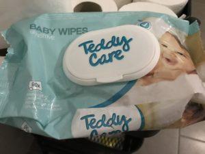 Lingettes bébé sensitive