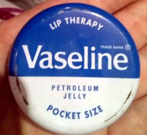 Lip therapy petroleum jelly pocket size