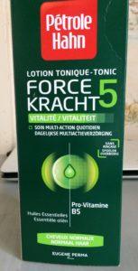 Lotion tonique pour cheveux normaux