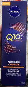 Q10 plusC Antirides énergie Soin Nuit