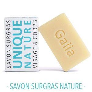 SAVON SURGRAS / NATURE