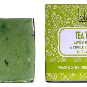 Savon ARBRE A THE – tea tree – surgras – sans huile de palme