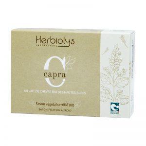 Savon Bio au lait de chèvre des Hautes Alpes – Capra – 100g