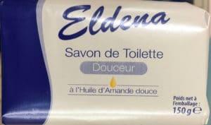 Savon de Toilette Douceur à l'Huile d'Amande douce
