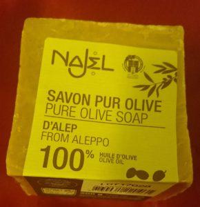 Savon pur olive