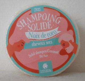Shampoing solide Noix de coco cheveux sec