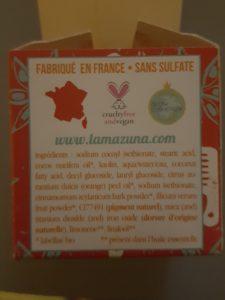 Shampooing Solide Orange Cannelle Badiane Série Limitée