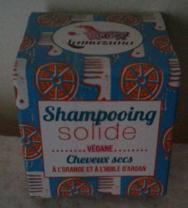 Shampooing solide cheveux secs
