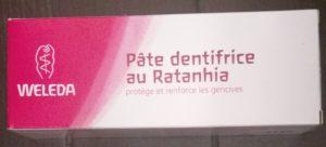 Weleda – Pâte dentifrice au Ratanhia