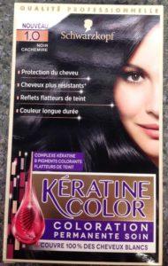 Keratine Color Noir Cachemire 1.0